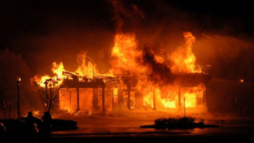 Fire damages properties worth Rs 7 million