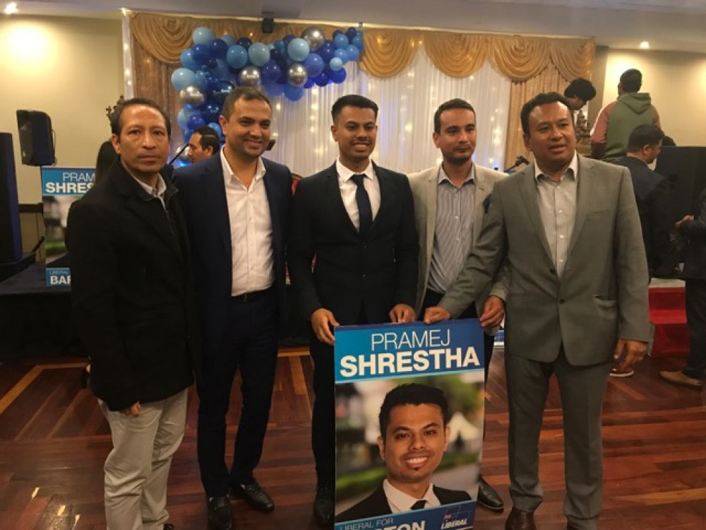 Federal Election 2019: A Promising Campaign for Pramej Shrestha, a Federal Liberal Candidate for Barton